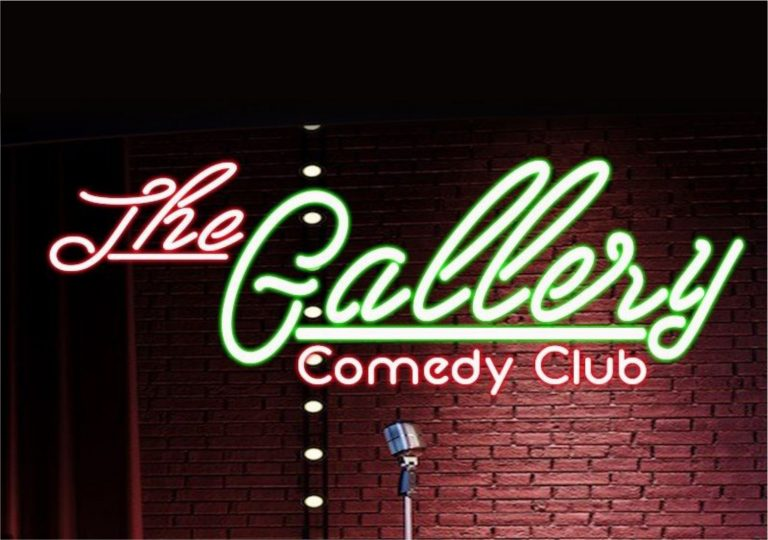 The Gallery Comedy Club Header 768x540