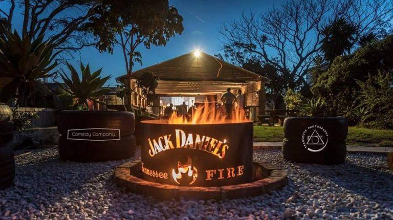 The Music Kitchen bonfire